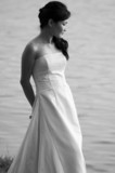 outdoor bride poster