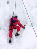 iceberg climbing poster