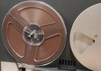 tape recorder reels