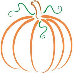 pumpkin lineart