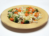 fettucine with vegetables