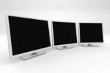 tree 3d monitors poster