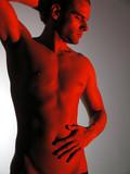 man figure poster