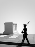 tomb of the unknown soldier, arlington national cemetery poster