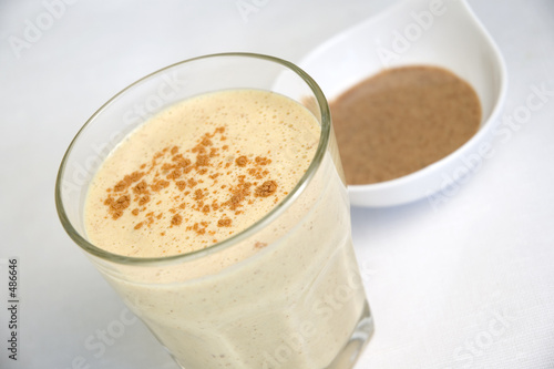 Leinwandbild Motiv milk shake