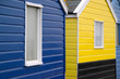 beach hut details at southwold