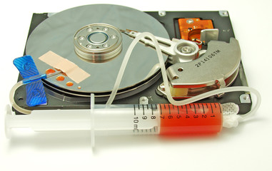 injured hard drive