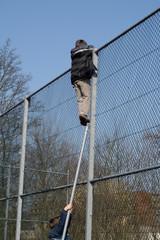 cool climbing kids
