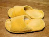 plush slippers poster