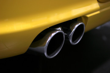 tail pipes
