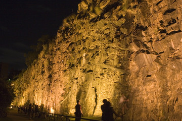 brisbane rock climbing by night