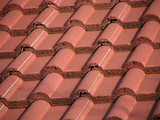roof tiles abstract poster