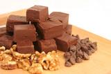 homemade chocolate fudge 1 poster