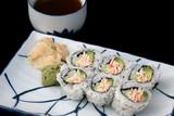 japanese sushi & tea poster
