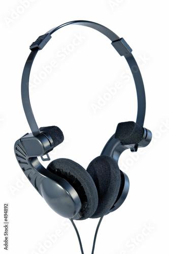 poster of portable headphones