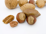 selection of nuts poster