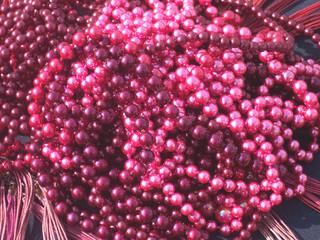 perles fushia