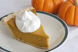 pumpkin pie slice poster