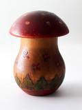wooden toy mushroom poster