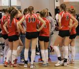 girls volleyball team meeting poster