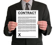 businessman presentation (contract)