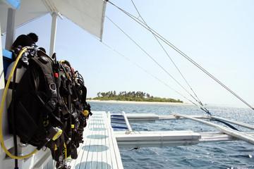 island diving