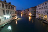 grand canal evening poster