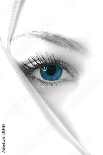 Leinwandbild Motiv mysterious blue