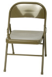 metal folding chair poster