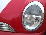 car lamp chrome poster