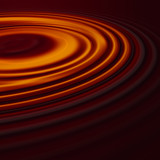liquid chocolate ripples poster