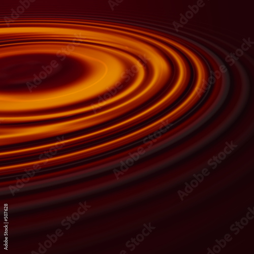 liquid chocolate ripples