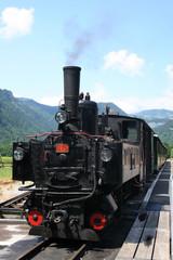 dampflokomotive schmalspurbahn