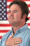 american man patriotic poster