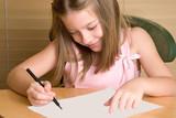 homework girl poster