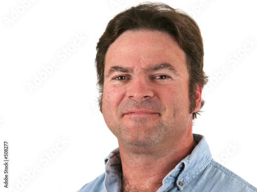 poster of regular guy headshot