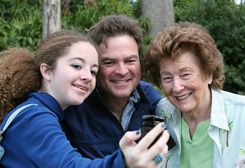 camera phone photographer