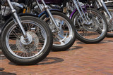 motorcycle wheels poster