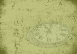 grunge time background poster