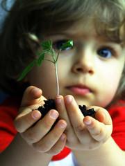 girl&seedling