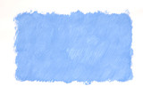 painted blue background poster