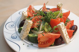 salad greek poster