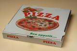 une boite à pizza poster