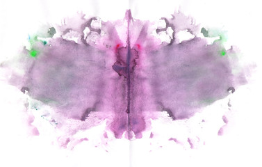 butterfly paint splat