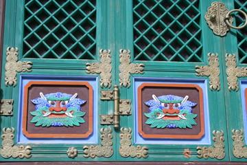 buddhist door