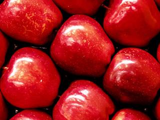caja de manzanas