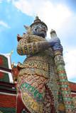 grand palace guard - bangkok poster