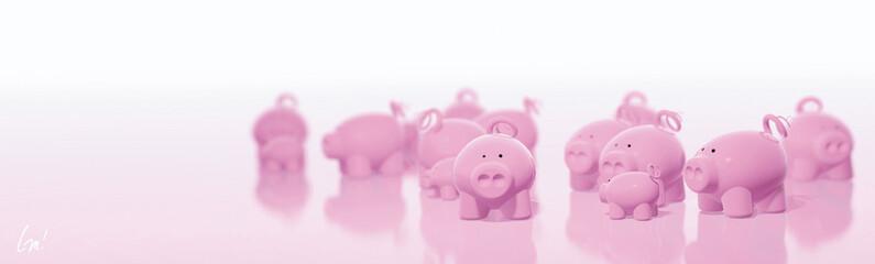 troupeau de cochons