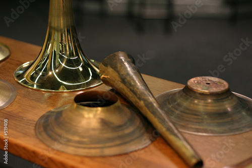 Leinwandbild Motiv aus der trompetenwerkstatt