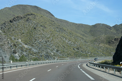 mountain motorway